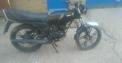 Yamaha rd 50 mx, project, barnfind, project,