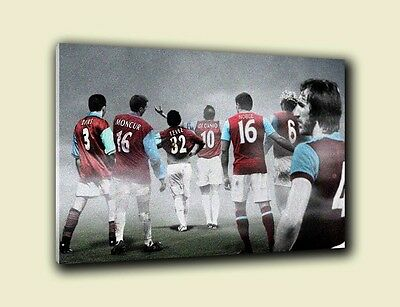 West Ham United 'Legends & Favourites' Wall Canvas A3