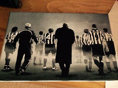 Newcastle United Favourites & Legends - A3 Wall Canvas