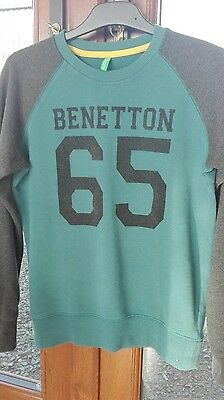 Boys Benetton Sweatshirt age 10-11 years. New without tags