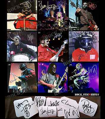 Slipknot stickers James Root, Mick Thomson, Corey Taylor,Joey Jordison,Paul Gray