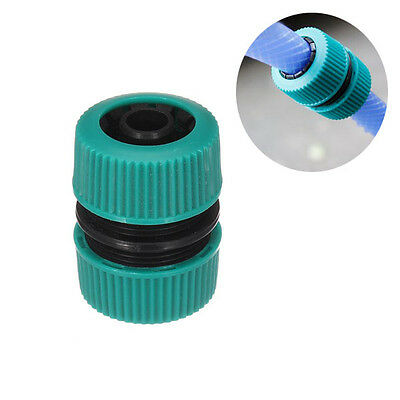 New 1/2 Inch Plastic Water Hose Connector Garden Water Pipe Restore Joint