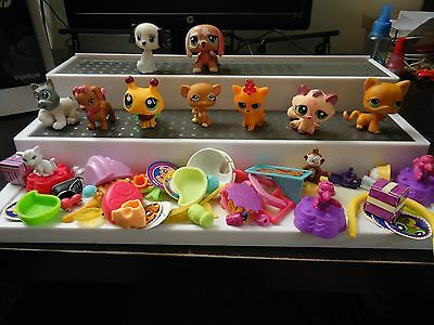 LPS Lot of Animals and Accessories includes 2163 Flowers Walking Dog(WORKS)
