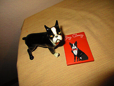 Boston Terrier Shafford Dog Figurine