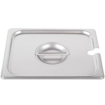 Restaurant Equipment NEW 1/2 HALF SIZE SLOTTED STAINLESS STEEL LID