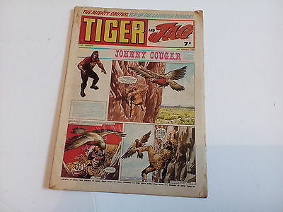 tiger and jag, picture comic, 1969