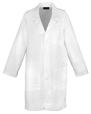 "Cherokee 40"" Unisex Lab Coat 1446 WHT White Free Shipping"