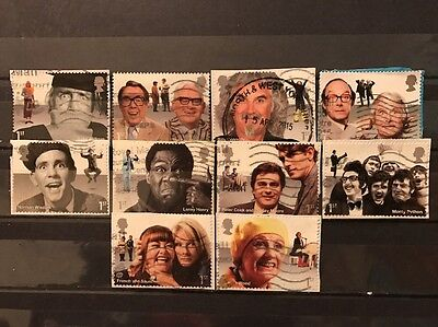 2015 Gb Comedy Greats Used Set Sg 3697 3706