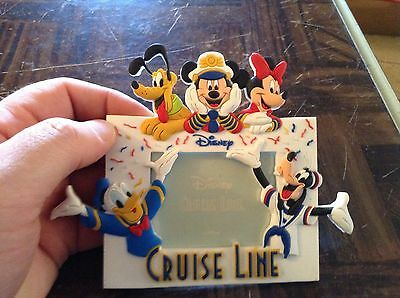 Disney cruise line magnetic picture frame