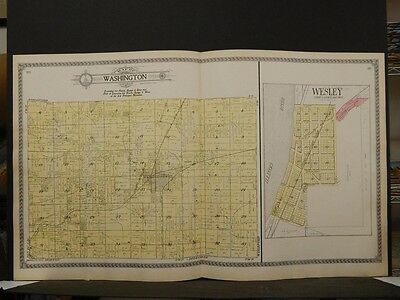 Illinois, Tazewell County Map, 1910, Washington Township, Double Page, P5#02