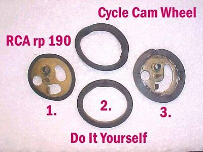 CYCLE CAM KIT FOR RCA 45 PHONOGRAPH RECORD PLAYER rp190  ++