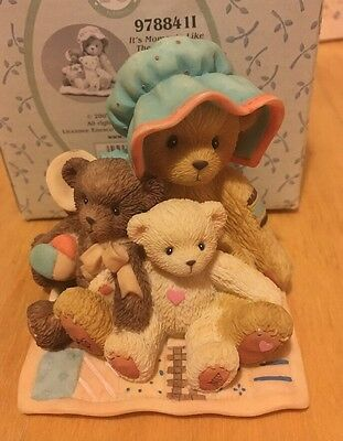 Rare & Retired Cherished Teddies - It's Moments Like These That Are Meant To Be