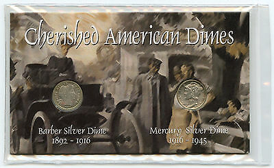 Cherished American Dimes 1911 - 1943 Silver Coin Set Collection - AJ760