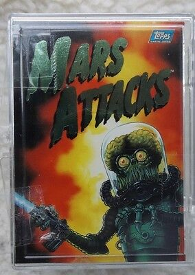 MARS ATTACKS 1992 SET OF 99 CARDS MINT IN good BOX