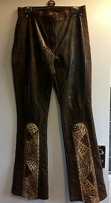 Vintage retro Cappopera Jeans Couture Italy jeans Very Unusual 30W