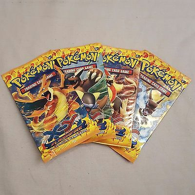 POKEMON TRADING CARD GAME - 1x XY FLASHFIRE BOOSTER PACK