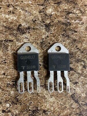 Littelfuse Q6040J7 Triac, Alternistor, 600V, 40A, TO-218X, 100 mA, 2V, 40W(2pcs)