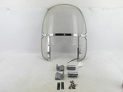 85-86 Honda Shadow Vt1100 Vt 1100 Windshield Wind Screen Shield