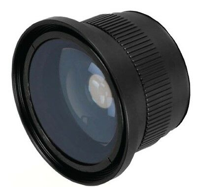Bower VLB4246B 0.42x 58mm High-Speed Wide-Angle Lens with Macro
