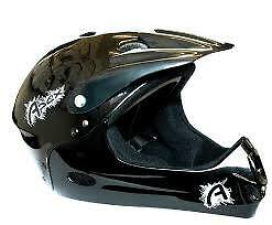 Apex Full Face Helmet Black 54-58cm