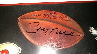 Jerry Rice Autographed Limited Edition Lithograph Psa/dna!!!!!