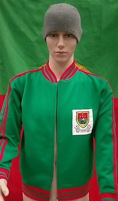 Mayo GAA Vintage 1970's Style Gaelic Football Tracksuit Top (Adult Small)