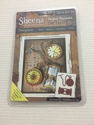 Sheena Perfect Partners Time Traveller Die Set - Timepieces