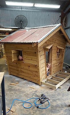 kids cubby house play hut play ground