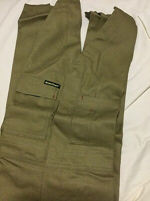 MENS OVERALLS SIZE 92s BRAND NEW -ACTION BACK