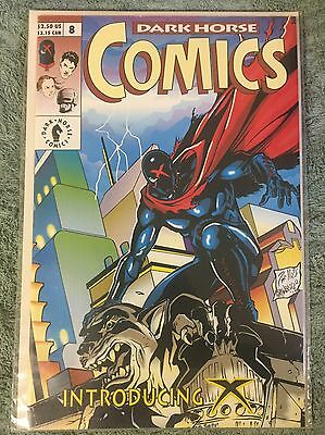 Dark Horse Comics #8 Introducing X First Appearance VF/NM