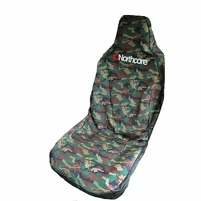 Northcore Waterproof Single Car / Van Seat Cover Camo