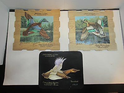 Johnson Sea Horse Advertisements 3 Canadian Duck Pictures