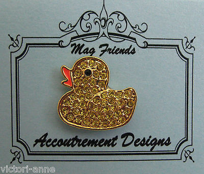 Accoutrement Designs Rubber Duck Needle Minder Magnet Mag Friends