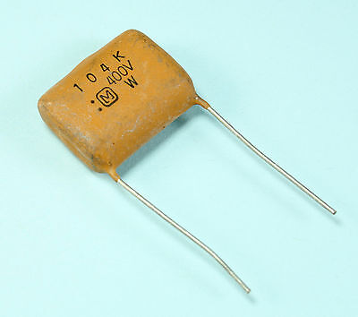 4pcs Panasonic .1uF 104K 400v Radial Film Capacitor