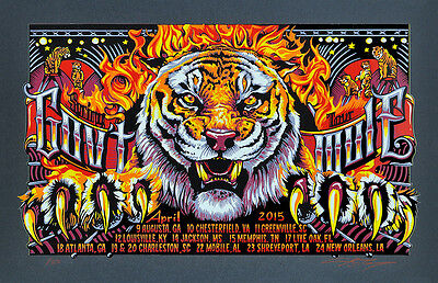 Gov't Mule - Spring Tour- New Orleans -   - 2015 - A J Masthay -Tour  Poster