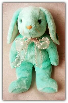 """Ty Mint Colored Plush Bunny Hippity 14"""""""