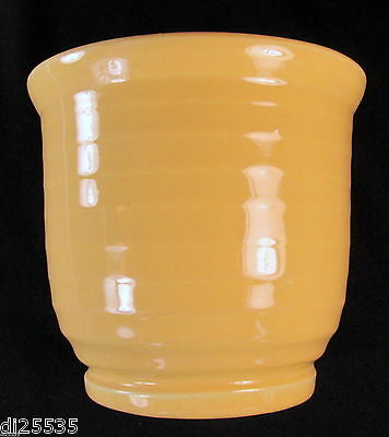 Bauer Pottery Ringed Beater Beating Bowl Hi-Fire Ringware Monterey Yellow
