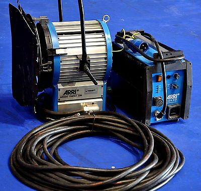 Used ARRI Daylight Compact 2500 HMI Set