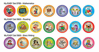280 Personalised Teacher Stickers - Reward Stickers Made 4U - Express Post FREE