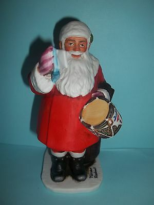 Norman Rockwell Figurine Santa Claus Drum for Tommy Grossman Designs 1976