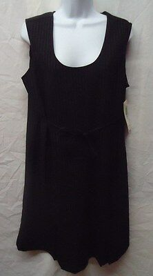 NEW Women's Large Tomorrow's Mother Stretch Maternity Dress
