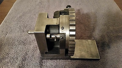 """Indexing Vertical Wheel Dresser Rotary Table Machinist Metal Fabrication 7"""""""