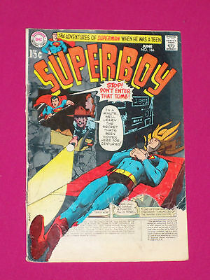 Superboy #166 DC Comics 1970, Lex Luthor, Bronze Age - Save on Multi-Shipping