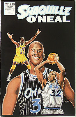 """Stellar Comics Shaquille O'Neal #1 """"The Shaquille O'Neal Story"""""""