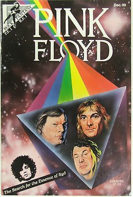 """Rock Fantasy Comics Pink Floyd """"The Search for the Essence of Syd"""""""