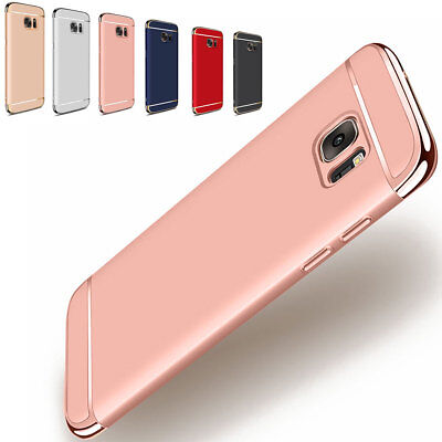 Luxury Thin Electroplate Shockproof Hard Case Cover For Samsung Galaxy Phones