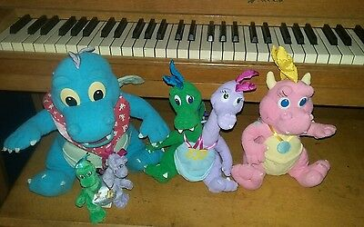 Dragon tales ord Cassie Zak and wheezie Hasbro