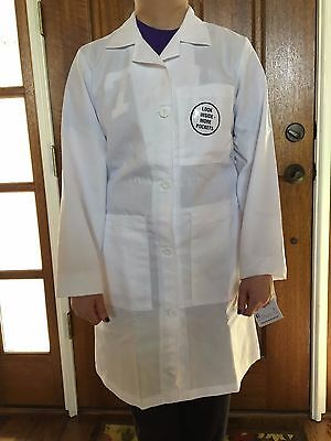 Women's 1st Quality Meta White Lab Coats Style # 1964 Sizes: 4-20 Price 15.50