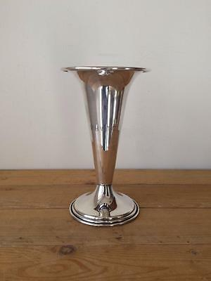 Vtg Engraved Silver West Highland White Terrie Club Westie WHWTC Cup Vase