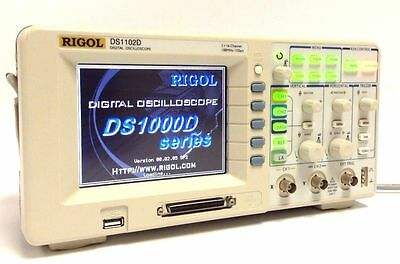 Rigol DS1102D 2CH 100MHz Digital Oscilloscope